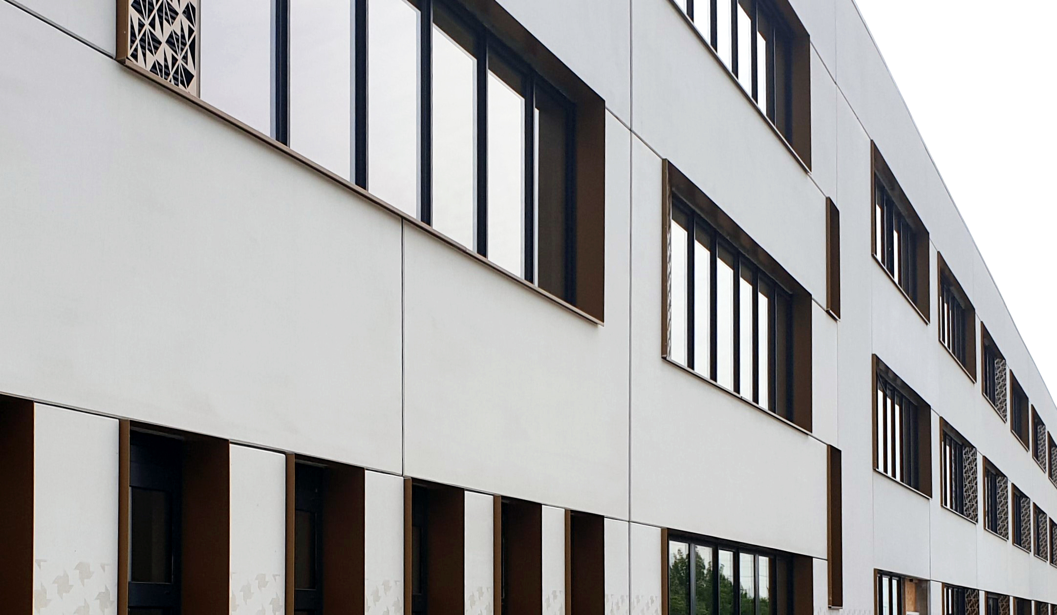 façade du collège André Tiraqueau de Fontenay-le-Comte